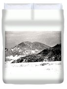 Colorado 2 In Black And White Duvet Cover