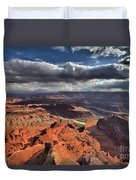 Colorado In The Distance Duvet Cover
