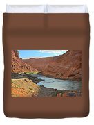 Colorado River Canyon 1 Duvet Cover