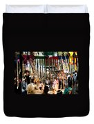 Colorful Beads At The Surajkund Mela Duvet Cover