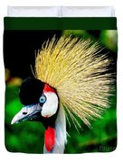Colorful Bird Duvet Cover