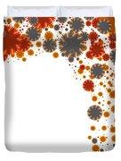 Colorful Blades Duvet Cover