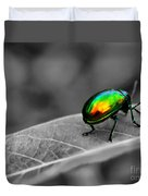 Colorful Bug Duvet Cover