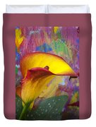 Colorful Calla Lily Duvet Cover