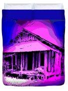 Colorful Cracker House Duvet Cover