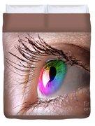 Colorful Eye Duvet Cover