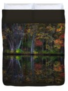 Colorful Forest Duvet Cover