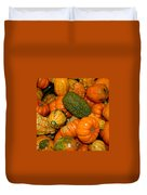 Colorful Gourds Duvet Cover