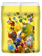 Colorful Marbles Two Duvet Cover