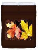 Colorful Pair Duvet Cover