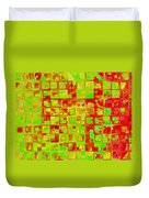 Colorful Squares II Duvet Cover