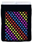 Colorful Squares Duvet Cover