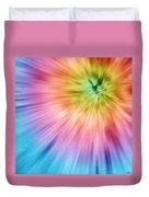 Colorful Starburst Tie Dye  Duvet Cover