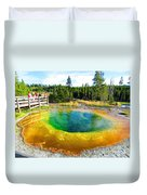 Colorful Yellowstone Duvet Cover
