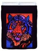 Colorfull Tiger Duvet Cover