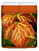 Colors And Veins Duvet Cover