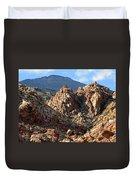 Colors In The Desert Duvet Cover