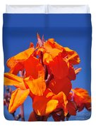 Colors Of Summer Duvet Cover