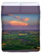 Colors Of The Palouse Duvet Cover