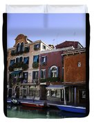 Colors Of Venice Duvet Cover