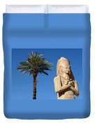 Colossus Of Ramses Ll Duvet Cover