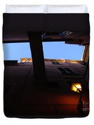 Colours Of Light II Duvet Cover