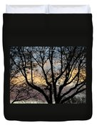 Colours Of The Dusk Duvet Cover