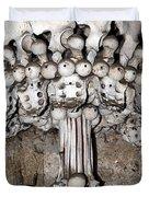 Column From Human Bones And Sku Duvet Cover