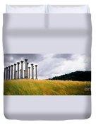 Columns 2 Duvet Cover