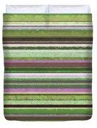 Comfortable Stripes Lv Duvet Cover