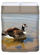 Coming On Shore Duvet Cover