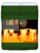 Coming Up Gold Duvet Cover