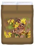 Common Buckeye  Duvet Cover
