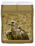 Common Female Kestrel Duvet Cover