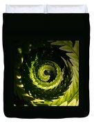 Common Polypody Swirl Duvet Cover