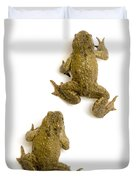 Common Toad Duvet Cover