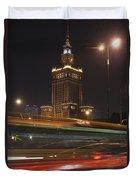 Communist Era Built Palace Of Culture Duvet Cover