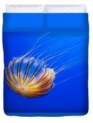 Compass Jellyfish Duvet Cover