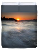 Concealed By The Tides Duvet Cover