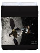 Concept Of The Orion Crew Exploration Duvet Cover