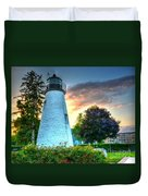 Concord Point Lighthouse 2 Duvet Cover