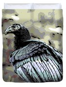 Condor Profile Duvet Cover