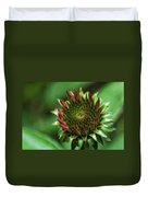 Coneflower Close-up Duvet Cover