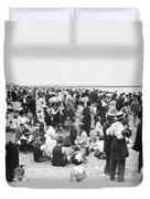 Coney Island New York - 1912 Duvet Cover