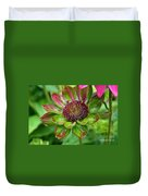 Confused Cone Flower Duvet Cover