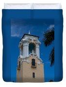 Congregational Church Tower Duvet Cover