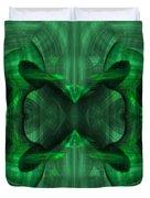 Conjoint - Emerald Duvet Cover