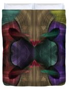 Conjoint - Multicolor Duvet Cover by Christopher Gaston