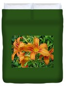 Consider The Lilies Of  The Field - Hemerocallis Fulva Duvet Cover