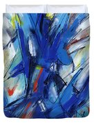 Contemporary Painting Six Duvet Cover
